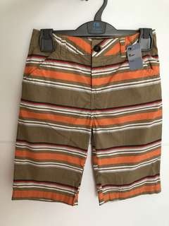 Mothercare brown stripe short size 10y