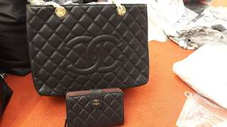 Chanel Bag and Wallet