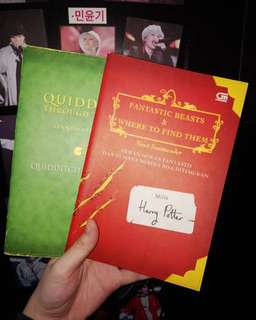 Fantastic beast and where to find them + Quidditch through the age