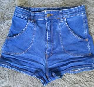 Wrangler high waisted shorts