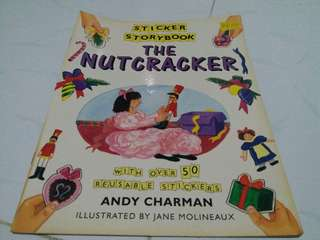 Preloved book💖 Sticker Storybook The Nutcracker