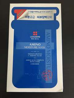 Leaders Mediu Amino Moisture Mask ~ 25ml * 10pcs