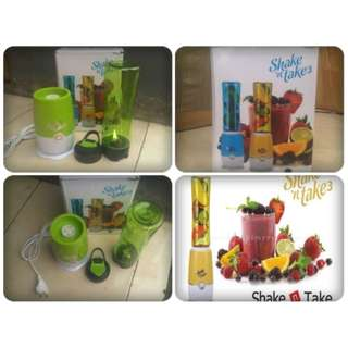 Blender Juice Cup Mini Electric Shake N Take Shake Termurah