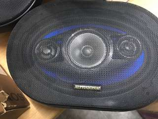 Alphasonik 3 Way speaker 6x9