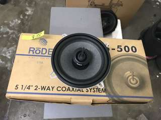 51/4 2 Way Coaxial system