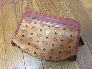 Authentic MCM Clutch Bag