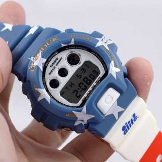 Jam Tangan G-Shock DW-6900 Captain America KW1