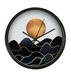 Nordic Sunrise Wall Clock