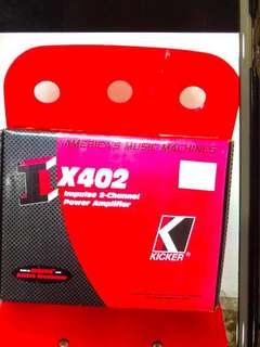 Kicker two channel Power Amplifier IX402