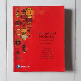 NTU Principles of Marketing; An Asian Perspective