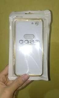 VIVO Y53 Aluminum Frame + Mirror Acrylic Phone Case (Gold)