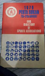 1970 sports associations 62 page