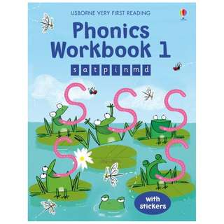 (Brand New) Phonics Workbook 1 Very First Reading 1.0 Very First Reading   By: Mairi MacKinnon  -  Paperback