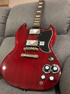 Brand new Epiphone SG-G400 pro