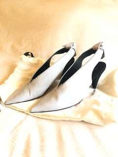 New Celine Heels Light Grey