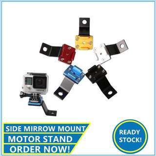 Alloy side mirrow mount Alloy Motor stand