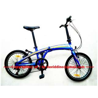 ~~~ SUPeR SLicK EXCeLLenT ConD  FoLDie BiCyCLe OnLy  $188 ~~~