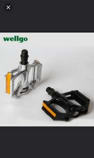 Brand new wellgo M195 aluminum alloy pedal for bicycle bike MTB