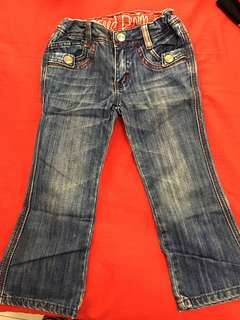 Jeans 3-6Years Old