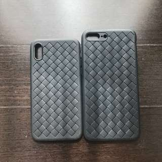 Ready Stock: BV Plait Soft Case iPhone 7+ 8+ X