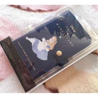 日本版 - Disney Alice in wonderland SHO-BI case 愛麗絲 有蓋電話套