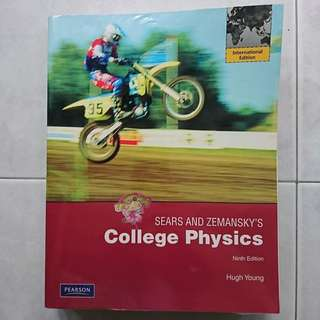 Sears and Zemansky's College Physics textbook