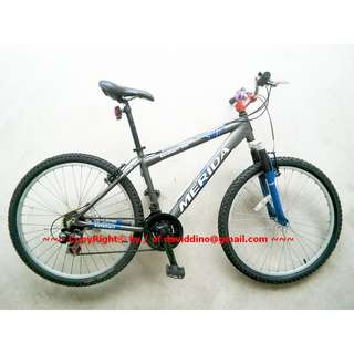 ~~~ GraPHiTe CoLouRed MeRiDa 26ins WheeLs MounTaiN BiCyCLe $298 ~~~