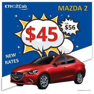*LOWERED RATES* Car Rental for GRAB and RYDEX drivers - Private Hire Rental Vehicles_Mazda2/ Mazda3