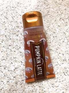 Bath and Body works shower gel (pumpkin latte) 74 ML
