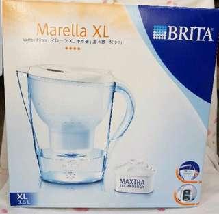 德國BRITA Marella XL 馬利拉3.5L濾水壺(3濾芯)