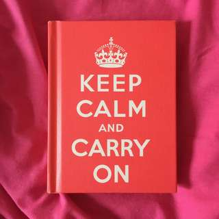 buku keep calm carry on