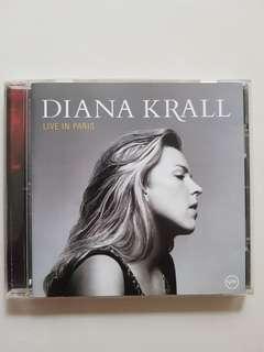 CD(Sold) Diana Krall - Live in Paris