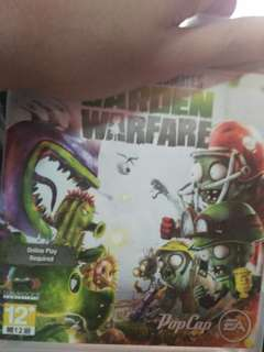 Ps3 game Plant vs zombie Gardern Warfare