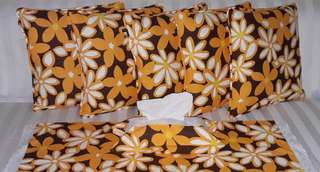 Sarung Bantal Kursi 1 Freya Brown