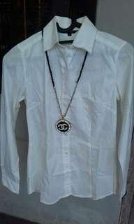 Blus putih katun The Executive (ori)