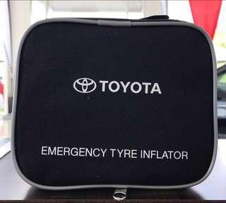 Toyota tyre inflator pump