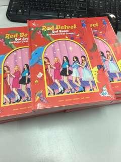 [Stock Arrive] Red Velvet Red Room Photobook