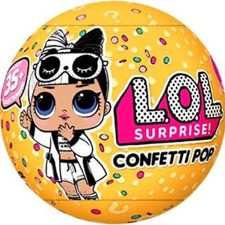 LOL SURPRISE CONFETTI POP DOLL SERIES 3 WAVE 2