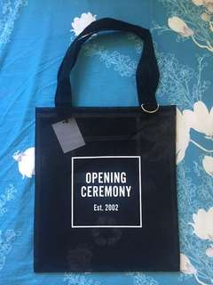 Opening Ceremony mesh tote bag