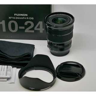 🚚 Fujifilm XF 10-24mm f4  盒單齊全