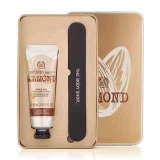 Bodyshop Almond Hands and Nail set