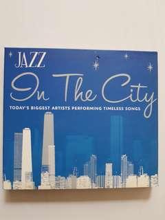 (SOLD)CD Jazz in The City (2cd set)