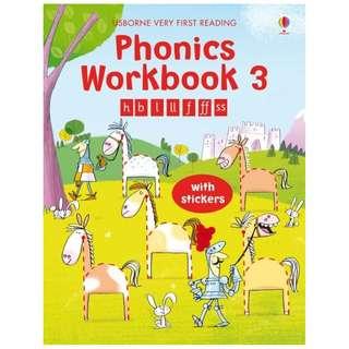 (Brand New) Phonics Workbook 3  Very First Reading   By: Mairi MacKinnon