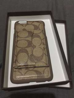 COACH iphone 6 6plus 7 7plus 8 and 8plus case
