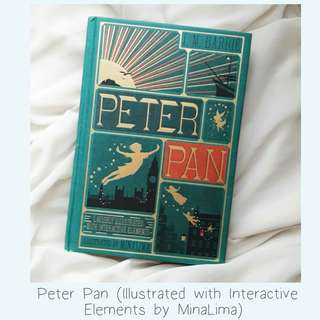 Peter Pan (Illustrated with Interactive Elements by MinaLima)