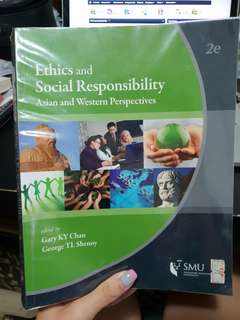 Ethics And Social Responsibility smu