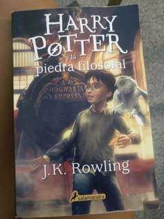 Harry Potter and the philosophers stone: Spanish