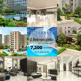 2 Bedroom Unit for only 7.2K Monthly! Near LRT2,  Sta. Lucia Mall, Cainta Rizal