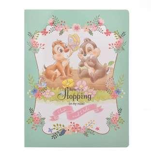 日本 Disney Store 直送 Blooming Garden 系列 Bambi & Chip n Dale 鋼牙大鼻與斑比Sticky Memo Pad 便利貼套裝