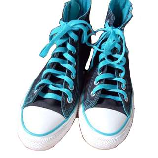 Authentic Converse Side Zip High Top Sneaker